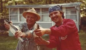 Ted & Tom Lanen Land-locked Salmon fishermen